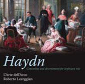 Haydn: Concerti & Divertimenti for Keyboard / Robert Lorregian, L'arte Dell'Arco