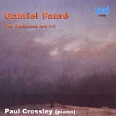 Fauré: Complete Piano Works Vol 1 / Paul Crossley