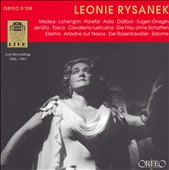 Leonie Rysanek, Live Recordings 1955-1991