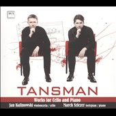 Tansman: Works For Cello & Piano