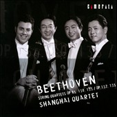Beethoven: Late String Quartets / Shanghai Quartet