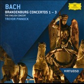 Bach: Brandenburg Concertos Nos. 1-3 / Trevor Pinnock - The English Concert