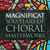 Magnificat: 500 Years of Choral Masterworks / John Eliot Gardiner; Peter Schreier; Paul McCreesh [50 CDs]