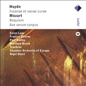 Haydn: Insanae et vanae curae; Mozart: Requiem / Carys Lane, Frances Bourne, Paul Badley, Matthew Brook