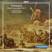 Telemann: Wind Concertos, Vol. 8 / Camerata Koln; La Stagione Frankfurt