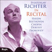 Sviatoslav Richter in Recital: Haydn, Beethoven, Chopin, Debussy, Prokofiev (Carnegie Hall; Wembley Town Hall, 1960's)
