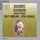 Schubert, Schumann: Lieder / Elly Ameling, J&#246;rg Demus