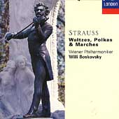 The Strauss Family: Waltzes, Polkas & Marches / Boskovsky