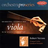 Orchestral Excerpts for Viola / Robert Vernon