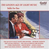 Various Artists: The Golden Age of Light Music: Table for Two