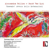 Chamber music with flute by Alessandra Bellino (b.1970) and Jacob Van Eyck (1590-1657) / Tommaso Rossi, recorder & flute; Dissonanzen Ens.
