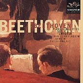 Beethoven: Piano Concertos no 4 & 5 / Barenboim, Berlin PO