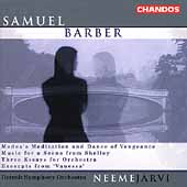 Barber: 3 Essays for Orchestra, etc / Järvi, Detroit SO