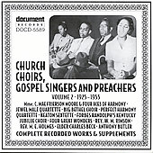 Various Artists: Church Choirs Gospel Singers & Preachers