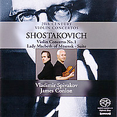 Shostakovich: Violin Concerto, etc / Spivakov, Conlon, et al