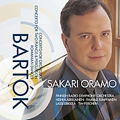Bartok: Concerto for Orchestra, etc / Oramo