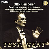 Bruckner: Symphony no 6, etc / Klemperer, Harper, et al