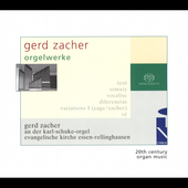 Gerd Zacher: Organ Works / Gerd Zacher