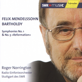 Mendelssohn: Symphonies 1 & 5 