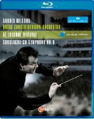 Shostakovich: Symphony No. 8 / Andris Nelsons, Royal Concertgebouw [Blu-Ray]
