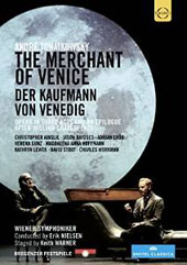 Andreé Tchaikowsky: The Merchant of Venice, opera in 3 acts / Christopher Ainslie, Jason Bridges, Adrian Erod, Verena Gunz, Magdalena Hoffmann, David Stout, Charles Workman [DVD]
