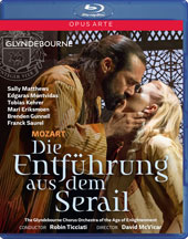 Mozart: Die Entführung aus dem Serail / Sally Matthews, Edgaras Montfidas, Tobias Kehrer, Mari Eriksmoen, Brenden Gunnell, Franck Saurel, Jonas Cradock. Orch. Of the Age of Enlightenment (Glyndebourne, 2015) [Blu-ray]