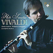 Vivaldi: Complete Flute Sonatas / Mario Folena
