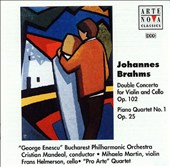Brahms: Concerto for violin & cello / Piano Quartet No. 1