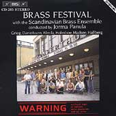 Grieg, Danielsson: Brass Works / Scandinavian Brass Ensemble
