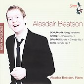 Alasdair Beatson plays Schumann, Grieg, Brahms & Berg