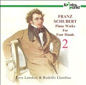 Franz Schubert: Piano Works for Four Hands, Vol. 2