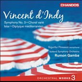 Vincent d'Indy: Orchestral Works, Vol. 3 / Rumon Gamba