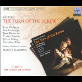 Britten: Turn Of The Screw / Bostridge, Harding [Includes CD-ROM]