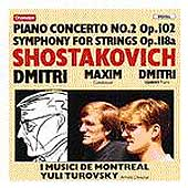 Shostakovich: Piano Concerto no 2, etc / Shostakovich