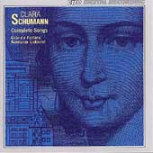 Clara Schumann: Complete Songs / Fonatana, Eickhorst