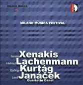 Milano Musica Festival, Vol. 1: Xenakis, Lachenmann, Kurt&aacute;g, Jan&aacute;cek