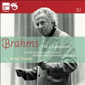 Brahms: The 4 Symphonies / Antal Dorati