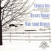 Ives, Wright: Piano Sonatas / Marc-André Hamelin