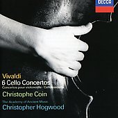 Vivaldi: 6 Cello Concertos / Christophe Coin, Hogwood, AAM