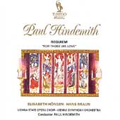 Hindemith: Requiem For Those We Love / Hindemith, et al