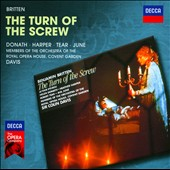 Britten: The Turn of the Screw / Helen Donath, Heather Harper, Robert Tear, Ava June. Lillian Watson - Colin Davis