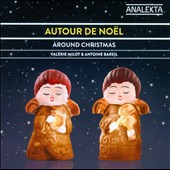 Christmas Fantasies / Valerie Milot, harp; Antione Bareil, violin