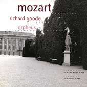 Mozart: Piano Concertos no 18 & 20 / Goode, Orpheus CO