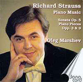 R. Strauss: Piano music, Sonata, etc / Oleg Marshev