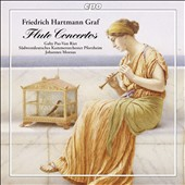 Friedrich Hartmann Graf: Flute Concertos (4) / Gaby Pas-Van-Riet, flute