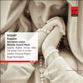 Mozart: Requiem; Ave verum corpus; Masonic Funeral Music / Argenta, Robbin, Ainsley, Miles