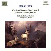 Brahms: Clarinet Sonatas no 1 & 2, etc / Berkes, Jand&oacute;