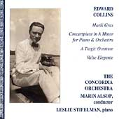 Collins: Mardi Gras, Concertpiece, etc / Alsop, Stifelman