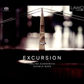 Excursion - transcriptions of music by Eccles, Glinka, Tchaikovsky, Hoffmeister, Bloch, Hellan for double bass / Erling Sunnarvik, double bass, Annika Skoglund, mz; Nils Lundström, piano