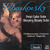 Tchaikovsky: Swan Lake & Sleeping Beauty Suites / Mogrelia
